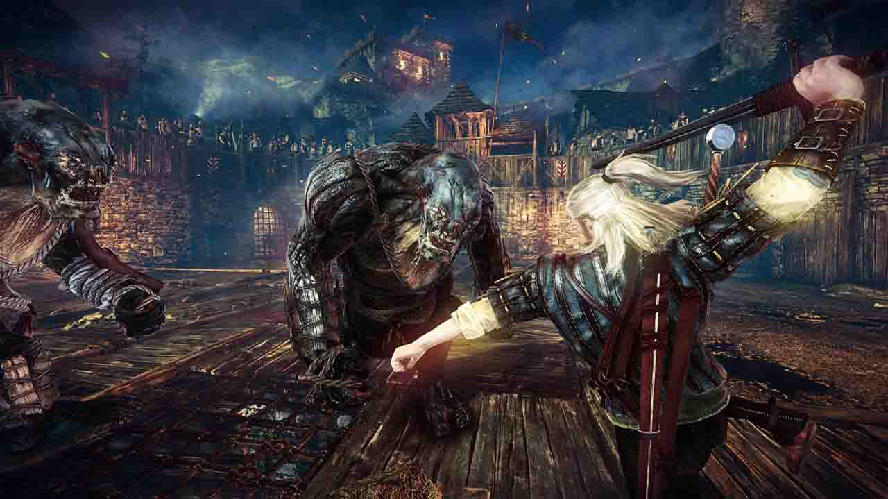 بازی The Witcher 2