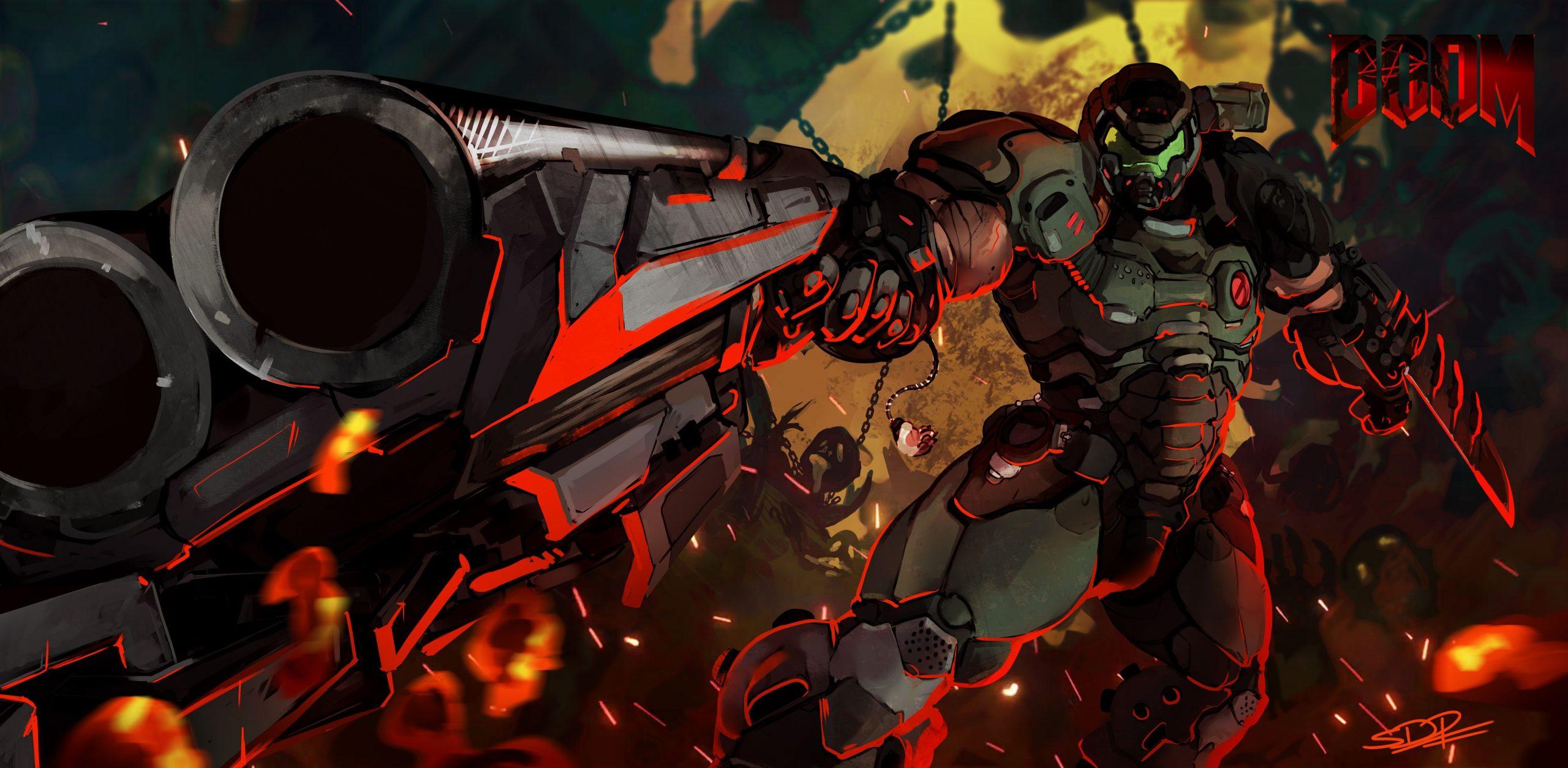 زیروبم بازی Doom