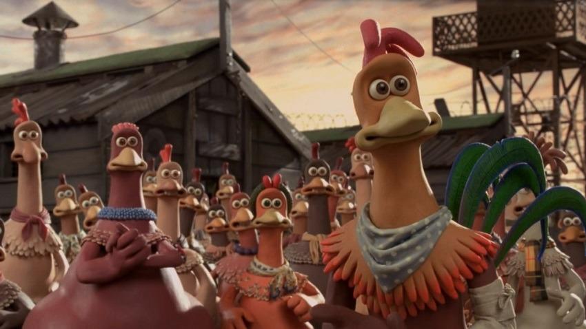 بهترین انیمیشن های تاریخ سینما | فرار مرغی