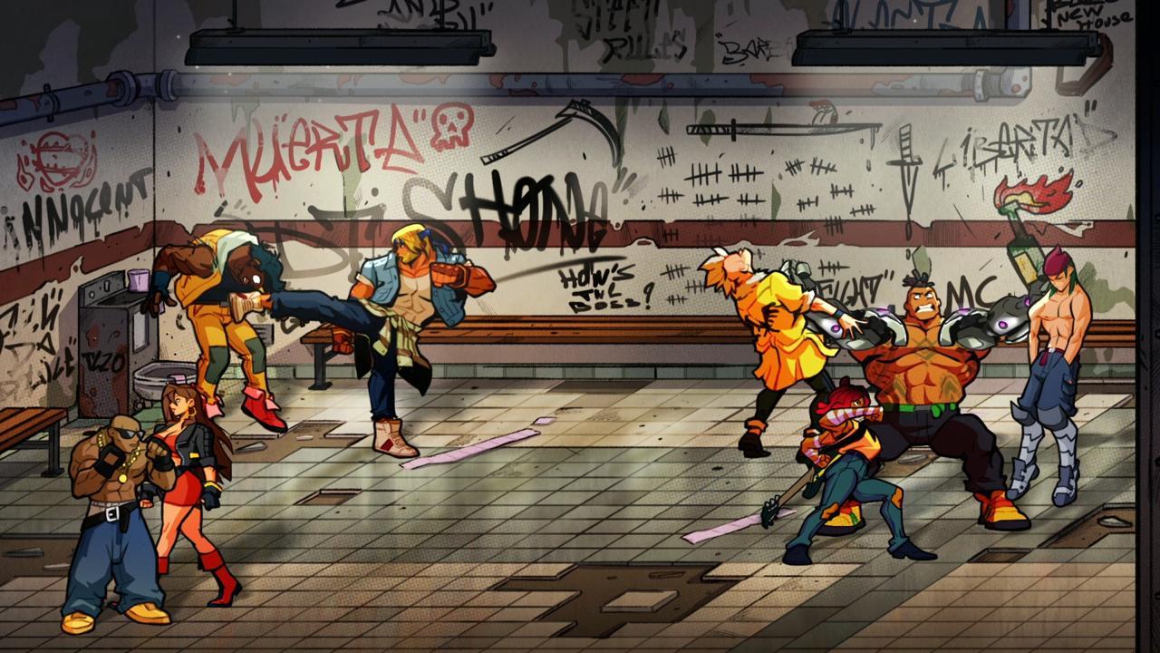 Streets of Rage 4 retro