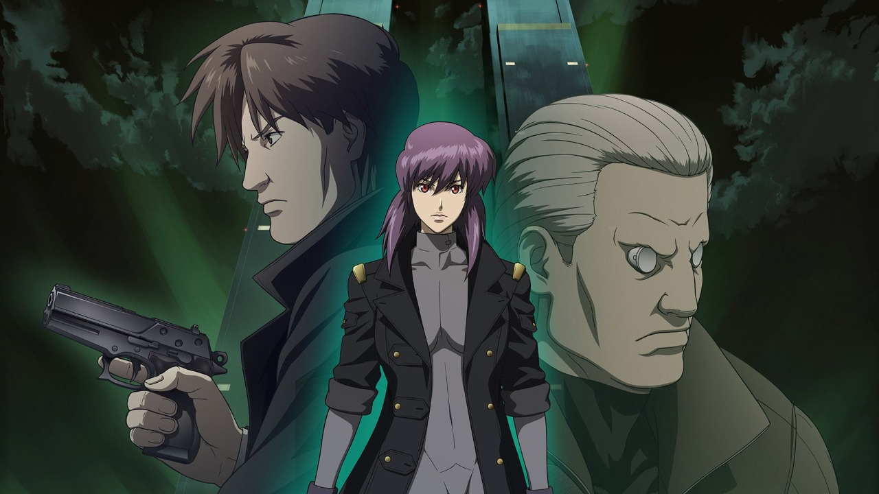 انیمه سینمایی Ghost in the Shell: Solid State Society