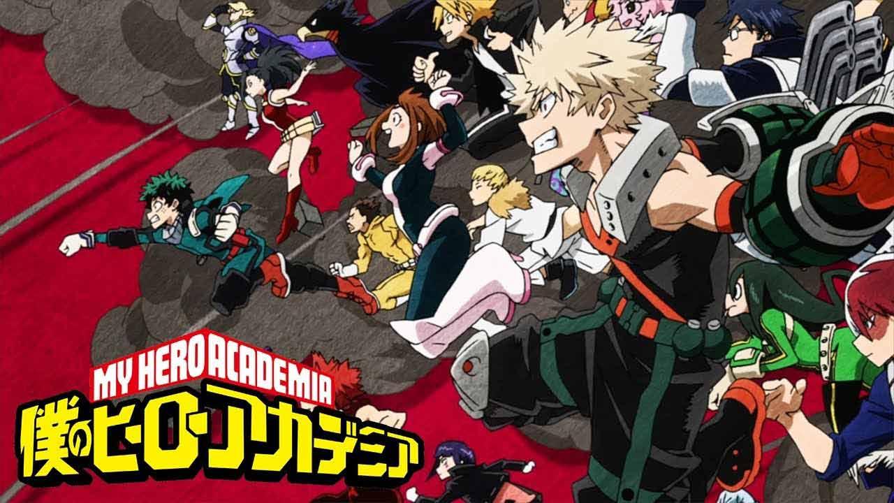 انیمه My Hero Academia (مدرسه قهرمانانه من)