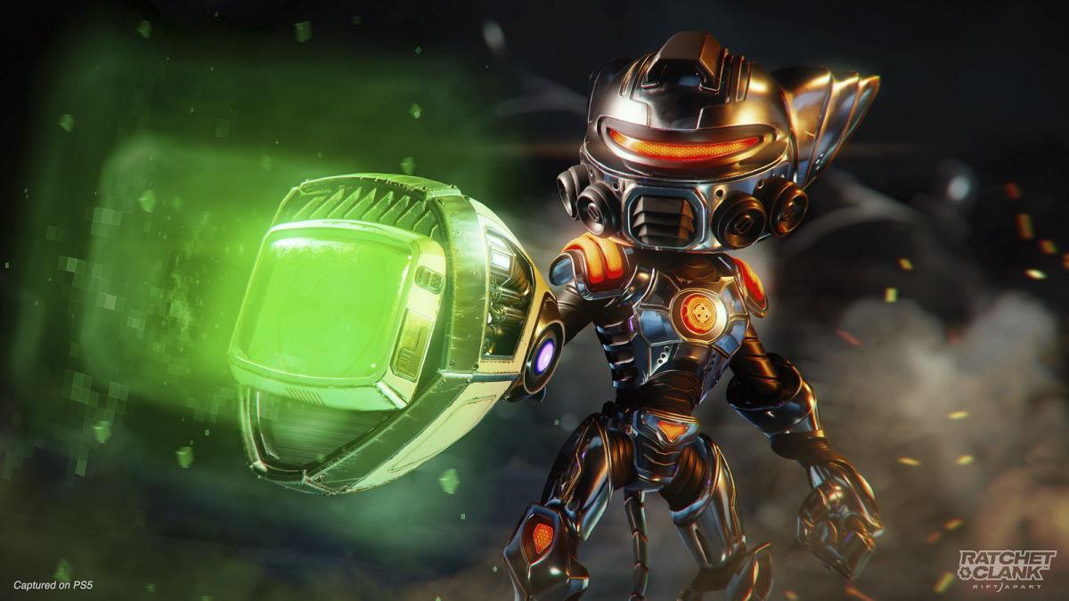 carbonox armor and pixelizer weapon