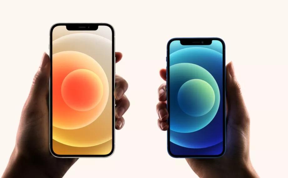 iPhone 12 vs. iPhone 12 mini. Apple