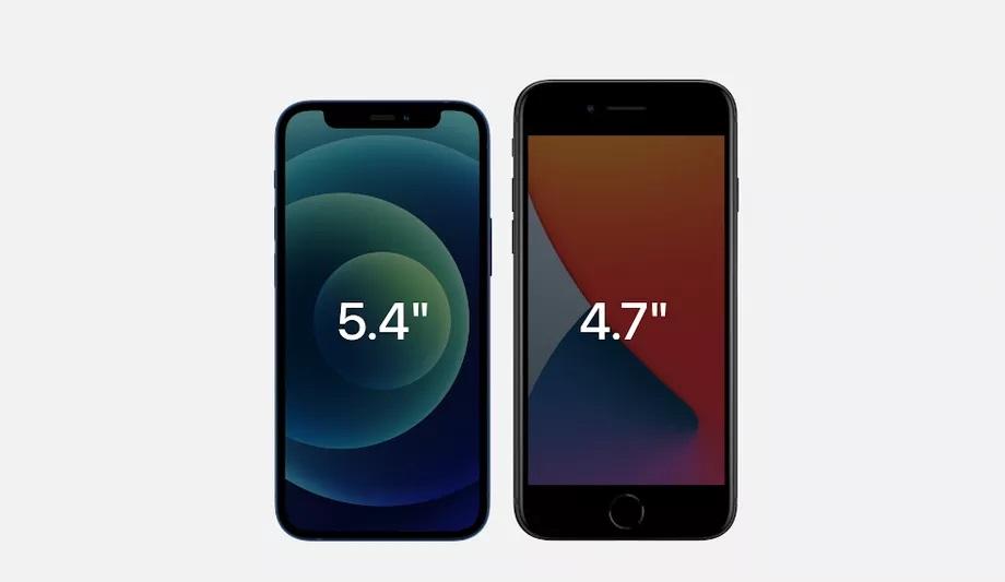 iPhone 12 mini vs. iPhone SE (2020) Apple