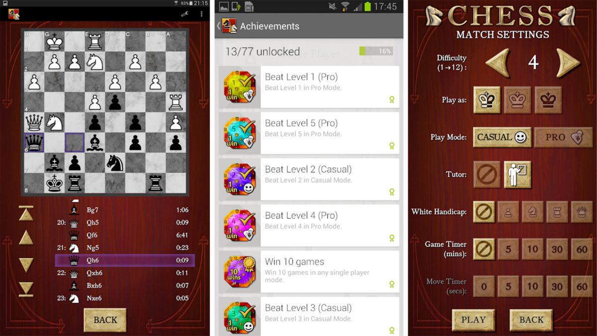 بهترین بازی های شطرنج اندروید