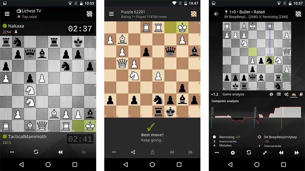 بهترین بازی های شطرنج