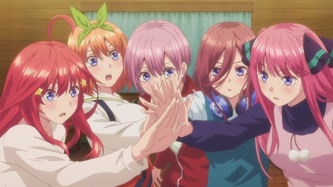 انیمه The Quintessential Quintuplets