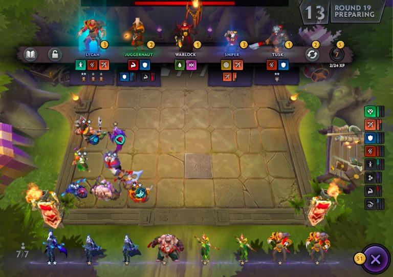 کاربرد Gold Interest در بازی Dota Underlord چگونه است؟ ( نکته و ترفندها)