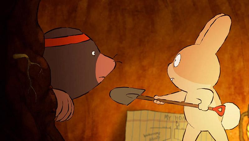 انیمیشن «نقب» Burrow