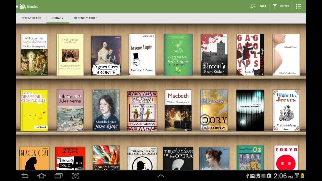 بهترین برنامههای کتابخوان الکترونیکی برای اندروید