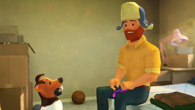 انیمیشن «بیرون» Out