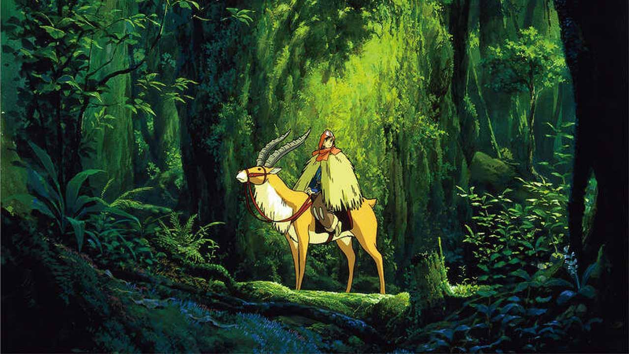 موسیقی متن انیمه شاهزاده مونونوکه