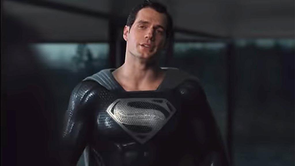 Superman Black Dress