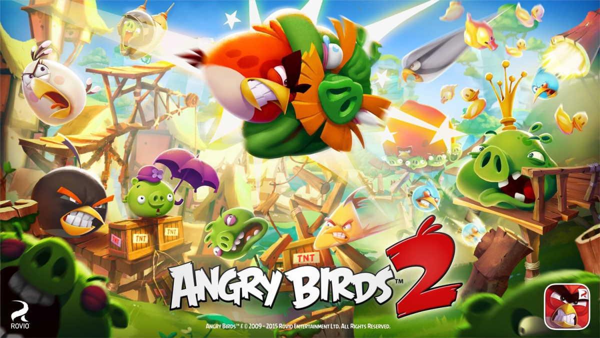 Angry Birds 2 - بهترین بازیهای دینا دار اندروید