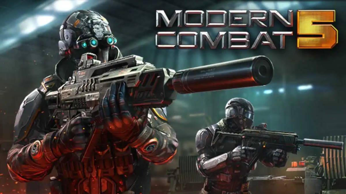 Modern Combat 5 - بهترین بازیهای دیتا دار اندروید