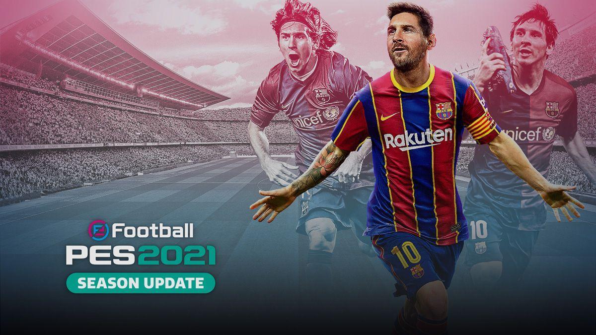 eFootball PES 2021 - بهترین بازیهای دیتا دار اندروید