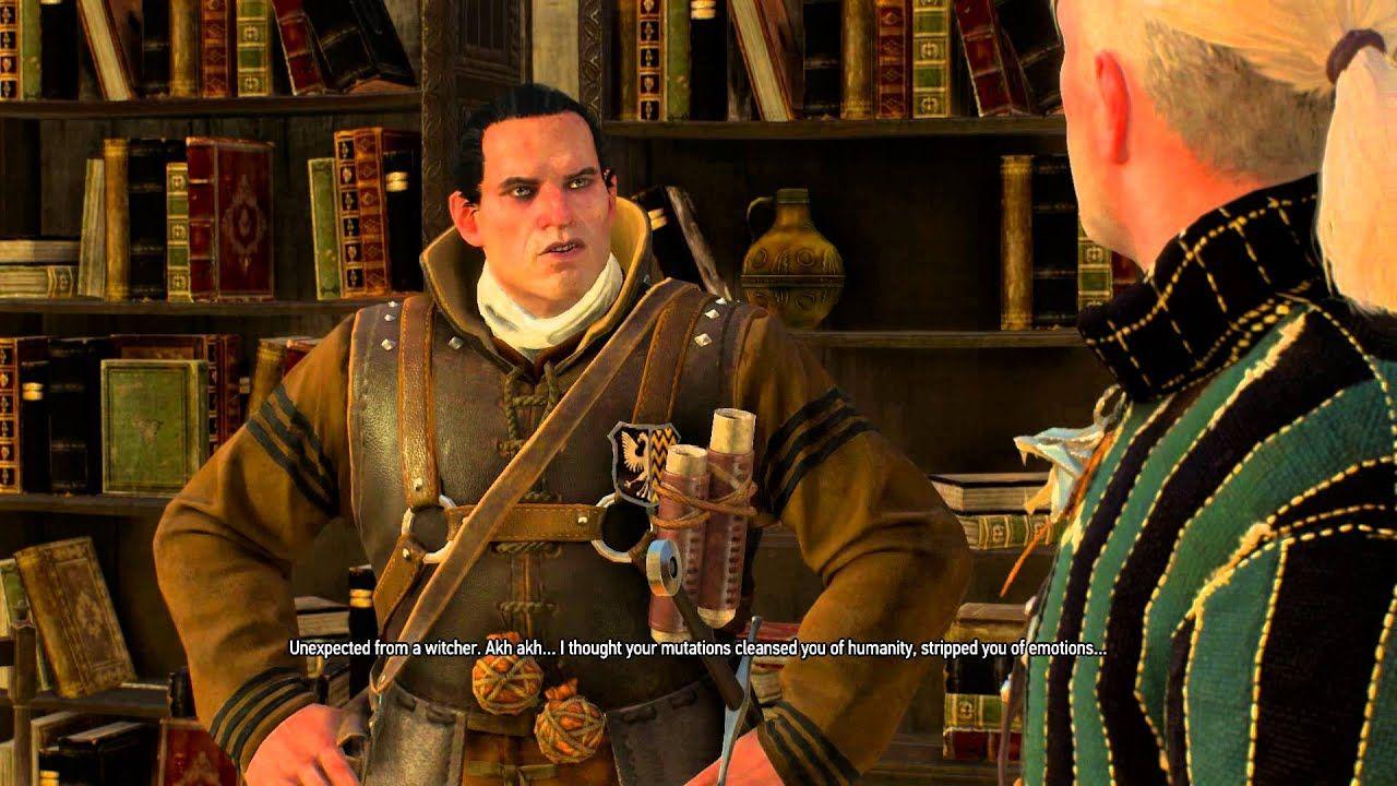 تصویری از مجموعه بازی The witcher